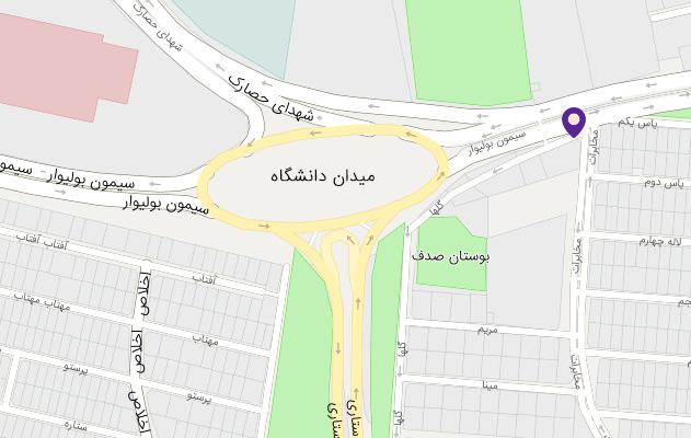 ما را در نقشه گوگل بیابید