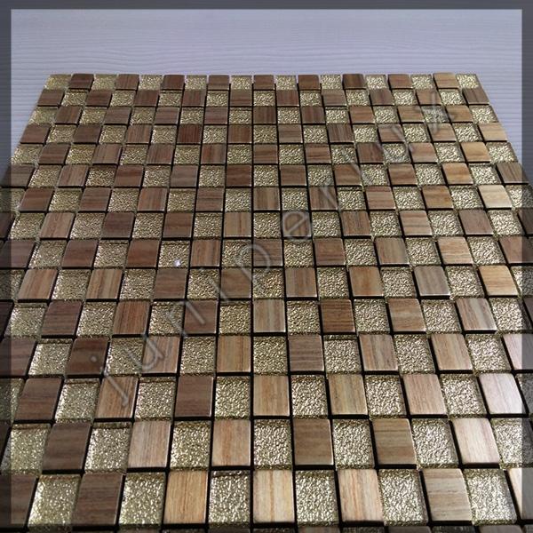 موزاییک آلومینیومی طرح چوب کریستالی با کد 70401027