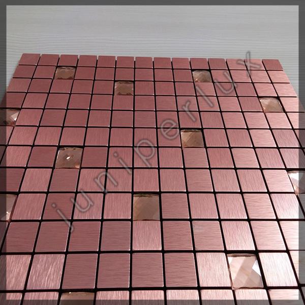 موزاییک آلومینیومی متوسط رنگ مسی با کد 70401033