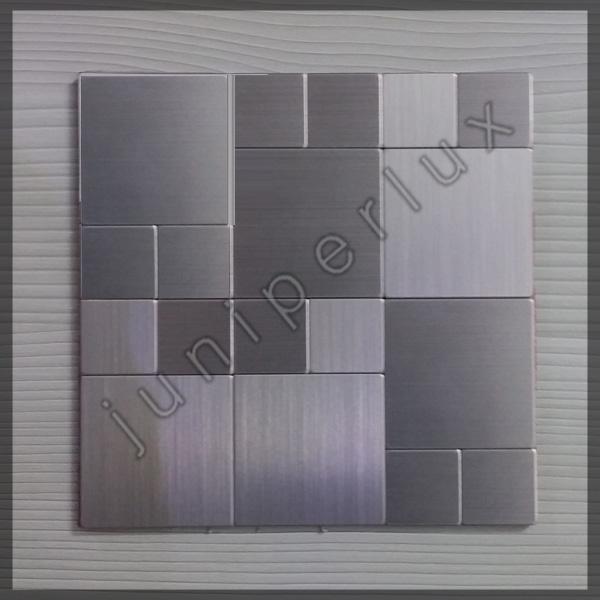 موزاییک آلومینیومی نقره ای پنجره ای با کد 70401043
