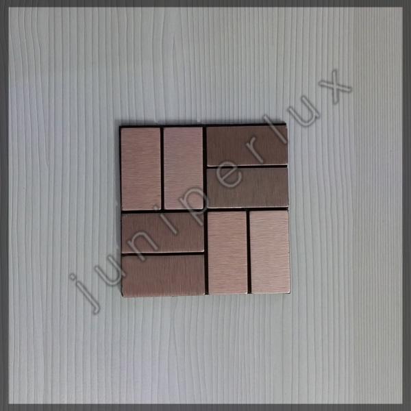 موزاییک آلومینیومی شبکه ای مسی رنگ با کد 70401046