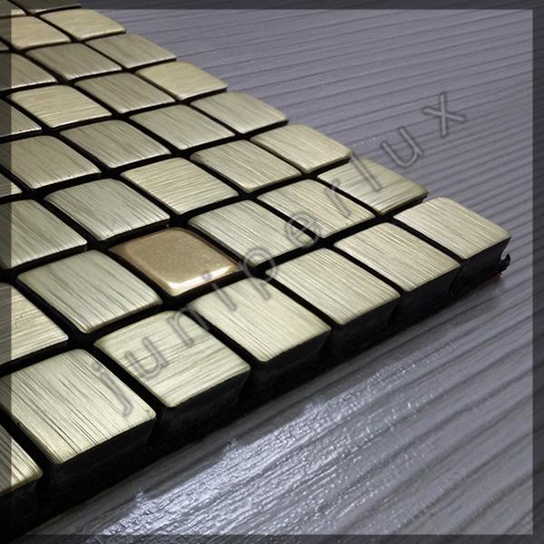موزاییک آلومینیومی ریز رنگ طلایی با کد 70401051