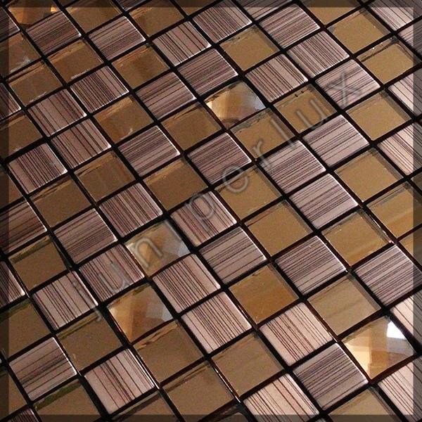 موزاییک آلومینیومی طرح چوب کریستالی با کد 70401052