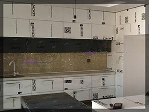 نمونه ای از بین کابینت آشپزخانه 7000527